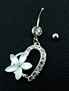 Z&X® Fashion Popular  Alloy Navel & Bell Button Rings Daily / Rhinestone Casual 1pc