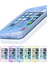 Capinha Para iPhone 5 Capinha iPhone 5 Flip Capa Proteção Completa Côr Sólida Macia TPU para iPhone SE/5s iPhone 5