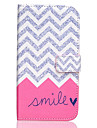 Smile  Painted PU Leather Full Body Case for Galaxy J5/Galaxy J7
