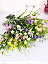 Artificial Flowers 1 Branch Simple Style Orchids Tabletop Flower