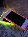 novo tpu flash de lembrança levou caixa transparente Capa para iPhone 5 / 5s (cores sortidas)