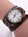 Xu™ Women's Fashion Restoring Ancient Ways Winding Genuine Leather Quartz Watch Cool Watches Unique Watches
