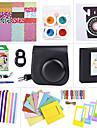 accessoires de camera faisceaux fixes pour fujifilm instax mini-8 (mini film / mini-8 cas / sticker / album etc. (noir)