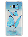 Case For Samsung Galaxy Samsung Galaxy Case Transparent Pattern Back Cover Butterfly TPU for J5 Grand Prime Core Prime