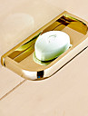 Soap Dishes & Holders Contemporary Brass 1 pc - Hotel bath