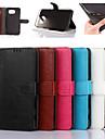 Для Samsung Galaxy S7 Edge Кошелек / Бумажник для карт / со стендом / Флип Кейс для Чехол Кейс для Один цвет Искусственная кожа SamsungS7