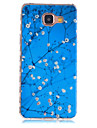 Case For Samsung Galaxy Samsung Galaxy Case Pattern Back Cover Flower TPU for A5(2016) A3(2016)