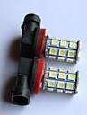 H8 / 9006 / 9005 Automatique Ampoules electriques 2.5W LED SMD / SMD 5050 200lm 2 Feu Antibrouillard