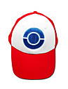 Hat/Cap Inspired by Pocket Monster Ash Ketchum Anime/ Video Games Cosplay Accessories Cap / Hat White / Red Terylene Male