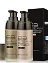 1 Foundation Våd Flydende Fugt Dekning Olie kontrol Længerevarende Concealer Ujævn hud Naturlig porereducerende Vandtæt Solbeskyttelse