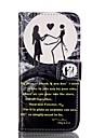 Pour Coque iPhone 6 / Coques iPhone 6 Plus Porte Carte / Portefeuille / Avec Support / Clapet / Motif Coque Coque Integrale CoqueNoir &