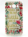 For Samsung Galaxy Case Pattern Case Back Cover Case Word / Phrase TPU Samsung J7 / J5 (2016) / J1