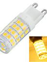 G9 Luminarias de LED  Duplo-Pin Encaixe Embutido 51 leds SMD 2835 Decorativa Branco Quente Branco Frio 400-500lm 3500/6500K AC 220-240V
