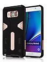 Для Samsung Galaxy Note Защита от удара / со стендом Кейс для Задняя крышка Кейс для Армированный PC Samsung Note 5 / Note 4 / Note 3
