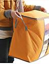 Υφασμα Πλαστική ύλη Οβάλ Με Καπάκι Σπίτι Οργανισμός, 1pc Αποθηκευτικά Κουτιά