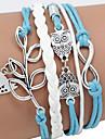 Браслеты Кожаные браслеты Others Уникальный дизайн Мода Новогодние подарки Бижутерия Подарок1шт