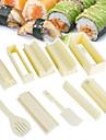 Plastik Przyrząd do sushi Przybory kuchenne Akcesoria kuchenne 1 zestaw