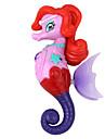 eletron mergulho inducao da princesa do brinquedo cavalo marinho multicolor roxo