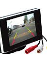 3.5 אינץ \'TFT-LCD לרכב אחורי צג HD עם מעמד הפוך מצלמת גיבוי באיכות גבוהה