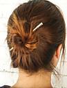 Women Fashion Minimalist Metal Bar Hairpin Hair Sticks Alloy Hair Accessories 1pc