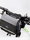 ROSWHEEL® Sac de Vélo 5LSacoche de Guidon de Vélo Sac à bandoulière Zip étanche Résistant à l'humidité Résistant aux Chocs Vestimentaire