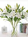 زهور اصطناعية 1 فرع أسلوب بسيط الزنابق أزهار الطاولة