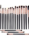 20PCS Professional Goat/Pony Hair Makeup Cosmetic Brush Set Blush/Eyeshadow/Eyelash/Brow/Lip Brush