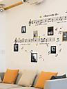 Musique Nature morte Mode Retro Loisir Stickers muraux Autocollants avion Autocollants muraux decoratifs Materiel AmovibleDecoration