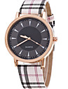 Women\'s Quartz Wrist Watch Casual Watch Leather Band Charm Fashion Khaki