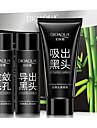 3PCS BIOAQUA Facial Nose Blackhead Strip Remover Deep Cleaner Set Suction Peel Off Black Head Acne Pore Treatments