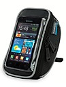 ROSWHEEL 자전거 핸들바 백 휴대 전화 가방 5.5 인치 방수 지퍼 착용 가능한 방습 충격방지 터치 스크린 싸이클링 용 Iphone 8 Plus / 7 Plus / 6S Plus / 6 Plus 아이폰 엑스