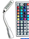 44-Key Color Remote Control for DC5-24V LED RGB String Lights