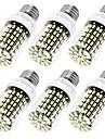 E12 E26/E27 LED лампы типа Корн T 108 светодиоды SMD 5733 Декоративная Тёплый белый Холодный белый 950lm 3000/6000K AC 110-130V