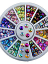 1 pcs Glitters / Mode Kits de decoration Nail Art Design Quotidien