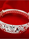 Silver Full-Star Adjustable Bangle Bracelet Christmas Gifts