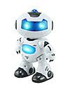 RC Robot Kids\' Electronics Robot Infrared ABS Singing Dancing Walking Remote Controlled Singing Dance Music & Light