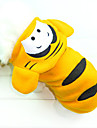 Dog Hoodie Yellow Winter Animal Cosplay / Holiday, Dog Clothes / Dog Clothing-Other