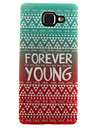 Case For Samsung Galaxy Samsung Galaxy Case IMD Pattern Back Cover Lines / Waves Soft TPU for A7(2016) A5(2016) A3(2016) A5 A3