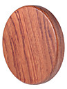 Portable WT - 510 High Quality Qi Wireless Charger Transmitter Wooden Pad Round Launcher with LED Indicator Light