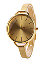 Gold Case Stainless Steel Band Wrist Fashion Dress Watch Jewelry Cool Watches Unique Watches Strap Watch
