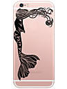 Back Cover Mermaid Pattern PC Hard Case Cover For Apple iPhone 6s Plus/6 Plus/iPhone 6s/6/iPhone SE/5s/5