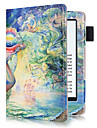 Case For Amazon Full Body Cases Tablet Cases Oil Painting Hard PU Leather for