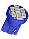 20 x T10 Ultra BLUE SUPER BRIGHT 8-SMD LED LIGHT BULBS 194 2825 921 168 175 501