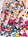 2000 pcs Negle Smykker Negle kunst Manicure Pedicure Daglig glitter / Mode / Negle smykker / ABS