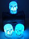 продажа Хэллоуин украшения принадлежности черепа ночь свет случайный цвет