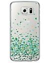 Pour Samsung Galaxy S7 Edge Transparente / Motif Coque Coque Arriere Coque Coeur Flexible TPU SamsungS7 edge / S7 / S6 edge plus / S6 edge