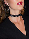 Women\'s Choker Necklace / Tattoo Choker - Tattoo Style, European, Fashion Black, Beige Necklace Jewelry For Party, Daily, Casual