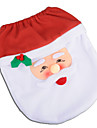santa sneeuwpop herten geest toilet seat cover deken badkamer set met papieren handdoek dekking voor kerst cadeau nieuwe jaar huis decoraties