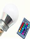 1db 8 W 350-450 lm E14 / GU10 / E26 / E27 Okos LED izzók G80 1 LED gyöngyök Integrált LED Tompítható / Távvezérlésű / Dekoratív RGB 85-265 V / 1 db. / RoHs