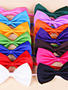 Cat Dog Tie/Bow Tie Dog Clothes Terylene Spring/Fall Birthday Holiday Cosplay Wedding Christmas Bowknot Rose Red Green Pink Light Blue